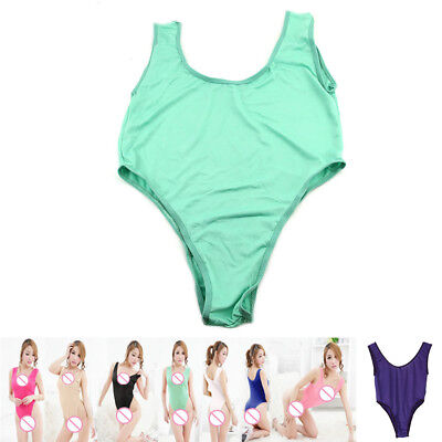 1PC Womens Teddies Leotard Bodysuit Swimsuit Bikini Thong Yoga Bathing Suit New