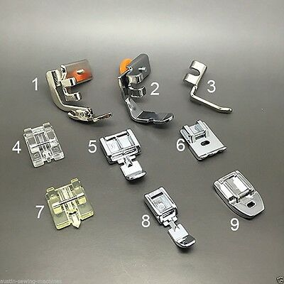 Zipper Foot Selection Sewing Machine Brother Toyota Janome Singer & More