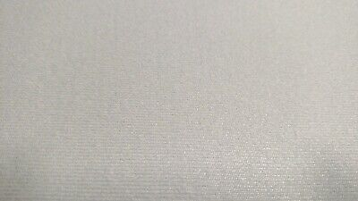 "Light Gray Upholstery Auto Pro Headliner Fabric 3/16"" Foam Backing 72""l X 60""w"