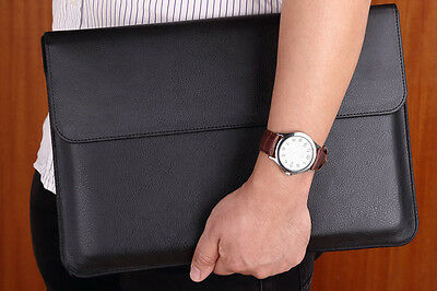 """Leather Sleeve Case Carry Bag Cover For APPLE 13"""" MacBook Air & Pro laptop"""