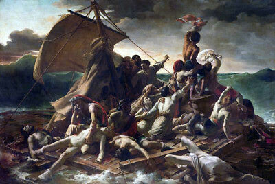 The Raft Of The Medusa by Theodore Gericault Oil Painting Reproduction on Canvas