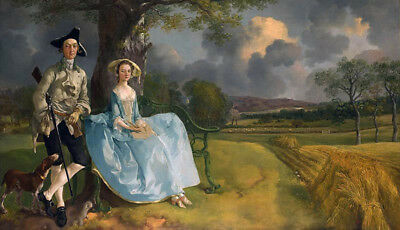 Mr. And Mrs. Robert Andrews by Thomas Gainsborough, Oil Painting Reproduction