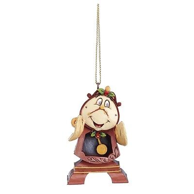 Disney Traditions A21429 Christmas Cogsworth Hanging Ornament