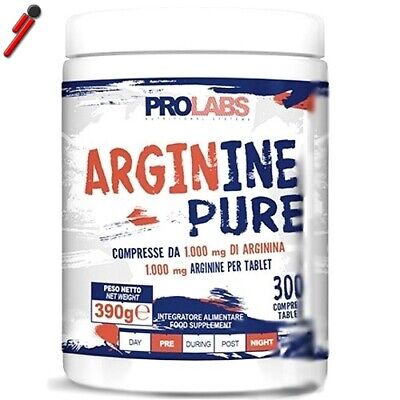 Prolabs, Arginine Pure, 300 cpr. Arginina Pura in compresse