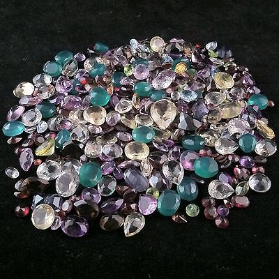 10+ Carats Natural Loose Mixed Faceted Gem Gemstones Jewels & Free Usa Shipping