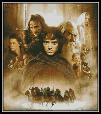 Lord of the Rings - Cross Stitch Chart/Pattern/Design/XStitch