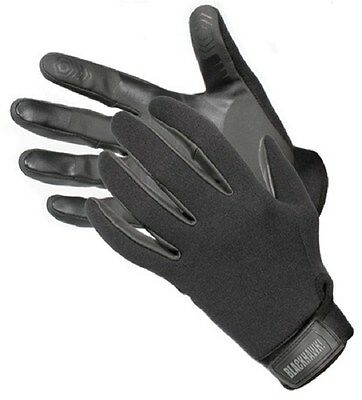 New! Blackhawk Neoprene Patrol Gloves Medium Black Tactical Water Ops 8150MDBK