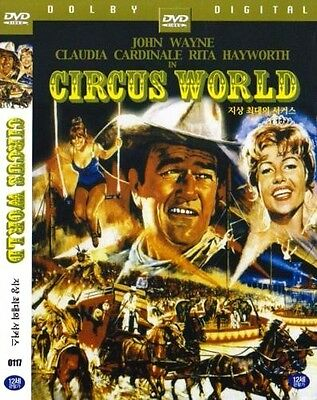 Circus World (1964) New Sealed DVD John Wayne