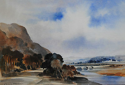 Super Original Ivan Taylor Painting ~ Worcester Landscape ~ Watercolour, Signed