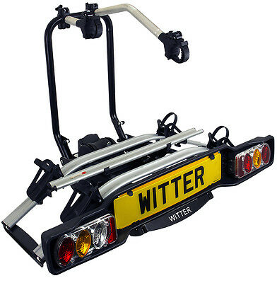 Witter ZXE502 Tow Bar Mounted Electric 2 / Two Bike Cycle Carrier