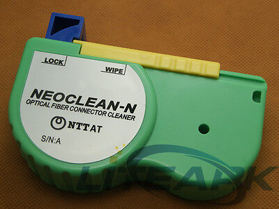 NTTAT NEOCLEAN-N Optical Fiber Connector Cleaner,Cleaning Cassette,500 Cleans