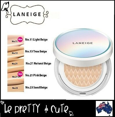 LANEIGE PORE CONTROL BB CUSHION SPF50 WITH EXTRA REFILL (#11 #13 #21 #23) 2x15g