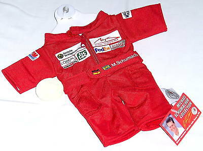Original FORMEL 1 Michael SCHUMACHER F1 RACING MINIDRESS, mit Saugknopf, NEU
