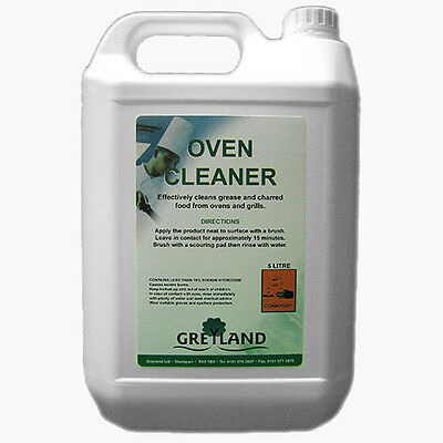 Oven Cleaner 5Ltr, Clover Industrial oven cleaner, Oven Gel