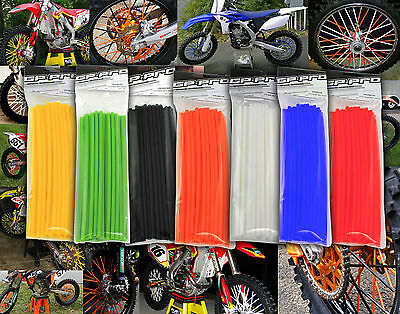 Motocross Mx Enduro Wheel Rim Spoke Shrouds Wraps Skins Covers All Colours