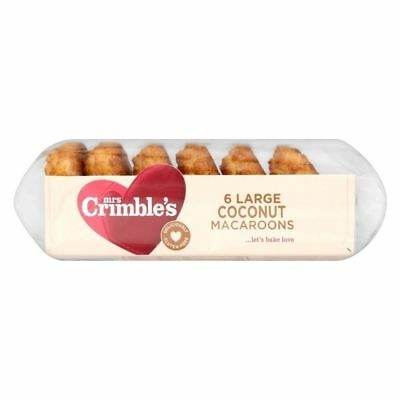 Mrs Crimble's Large Coconut Macaroons (6 per pack - 210g)