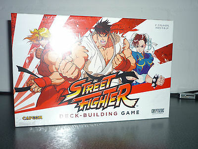 Streetfighter Deck Building Game