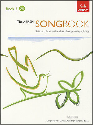 The ABRSM Songbook 3 Vocal Music Book/2CDs Selected Pieces & Traditional Songs
