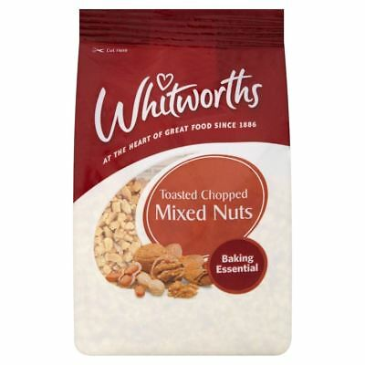 Whitworths Toasted Chopped Mixed Nuts (200g)