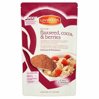 Linwoods Milled Flaxseed, Cocoa & Berries (360g)
