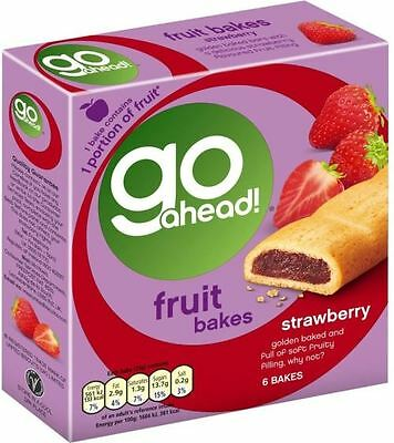 McVitie's Go Ahead! Fruit Bakes - Strawberry (6 per pack - 210g)