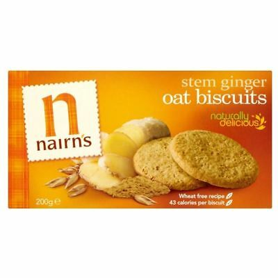 Nairn's Stem Ginger Oat Biscuits (200g)