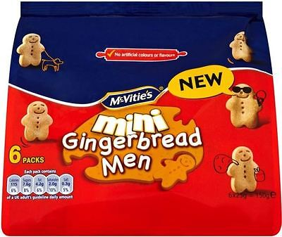 McVitie's Mini Gingerbread Men (6 per pack - 150g)