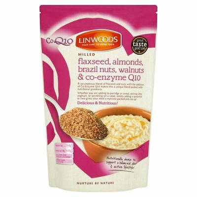 Linwoods Milled Flaxseed, Walnuts, Brazil Nuts, Almonds & Q10 (360g)