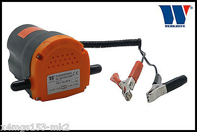 Werkzeug - 12 Volt Oil Extractor Pump, Quick & Easy To Use For Oil Changes, 9910