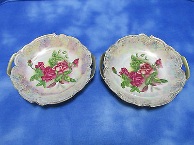 Incredible Vintage Pair of Condiment Dishes