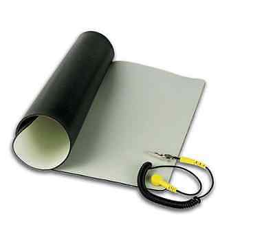 """Velleman AS8 Anti-Static Mat With Ground Cable 28"""" x 40""""!!!! SPECIAL!!!!!!!!!!!!"""