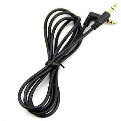 3.5mm Aux Male to Male Auxiliary Cord Stereo Audio Cable For PC iPod MP3 black