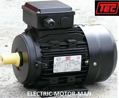 Electric Motor, Single Phase, 2.2Kw, 3HP, 4 pole - 1400 rpm. 3 HP