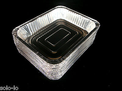 120 Foil 325 x 260mm Tray Roasting BBQ Baking Serving Trays new Wholesale (L)