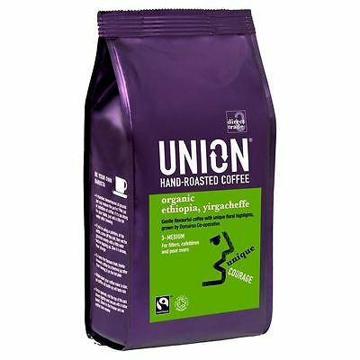Union Hand Roasted Ethiopia Yirgacheffe Highlands Hand Roasted Coffee (227g)