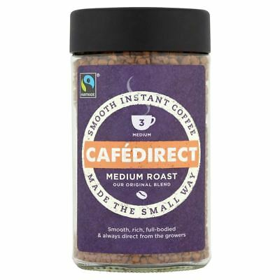 Cafédirect Fairtrade Original Blend Instant Coffee (100g)