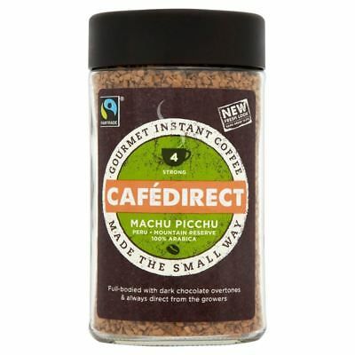 Cafédirect Fairtrade Machu Picchu Instant Coffee (100g)