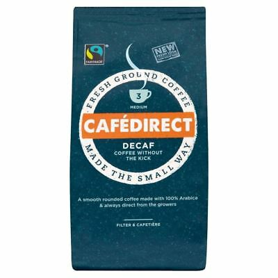 Cafédirect Fairtrade Decaffeinated Roast & Ground Coffee (227g)