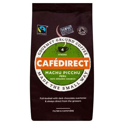 Cafédirect Fairtrade Organic Macchu Picchu Roast & Ground Coffee (227g)