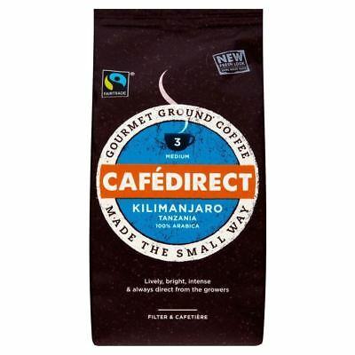 Cafédirect Fairtrade Kilimanjaro Roast & Ground Coffee (227g)