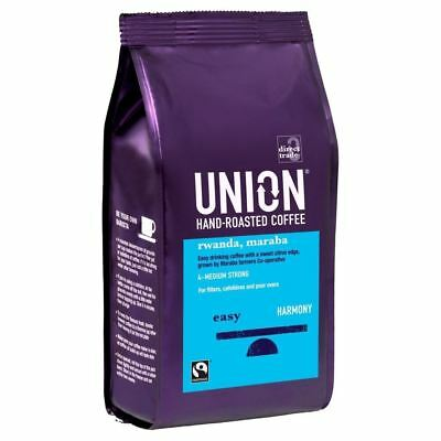 Union Hand Roasted Fairtrade Rwandan Maraba Coffee (227g)
