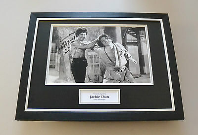 Jackie Chan Signed Framed 16x12 Photo Autograph Display Enter the Dragon + COA