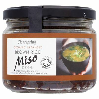 Clearspring Japanese Organic Brown Rice Miso (300g)