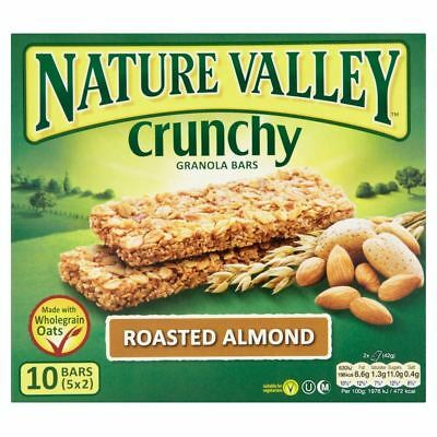 Nature Valley Crunchy Granola Bars - Roasted Almond (5x42g)