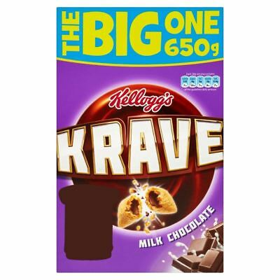 Kellogg's Krave Milk Chocolate (650g)