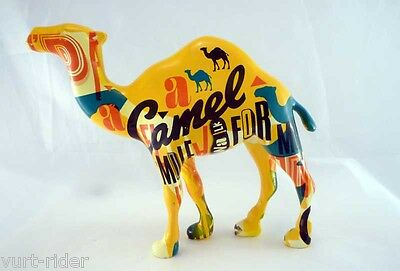 100 years CAMEL anniversary celebrating figure #3 MIB + case -item not for sale