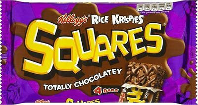 Kellogg's Rice Krispies Squares Totally Chocolatey (4x36g)