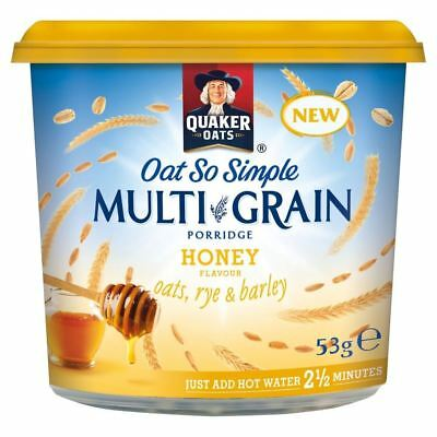 Quaker Oat So Simple Multigrain Porridge Honey (53g)