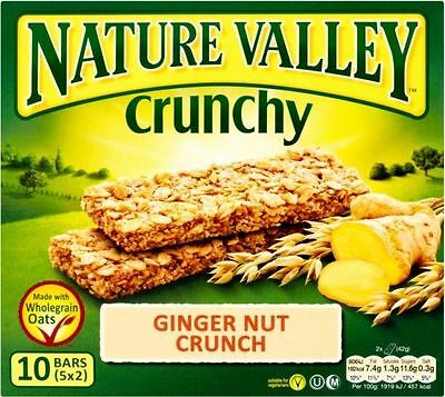 Nature Valley Crunchy Granola Bars - Ginger Nut Crunch (5x42g)