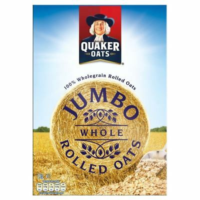 Quaker Oats Jumbo Whole Rolled Oats (1Kg)